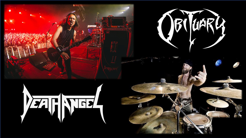 DEATH ANGEL & OBITUARY – Alive & Streaming!
