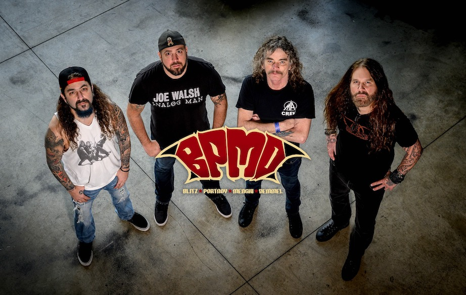 BPMD – Neues Projekt von OVERKILL, MACHINE HEAD, ex- DREAM THEATER und METAL ALLEGIANCE