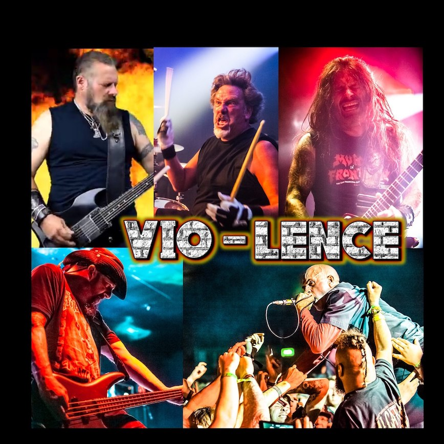 VIO-LENCE – Die Bay Area Thrasher planen ihre Comeback CD
