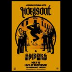 HORISONT & SPIDERS: DOUBLE SWEDISH CLASSIC ROCK ATTACK