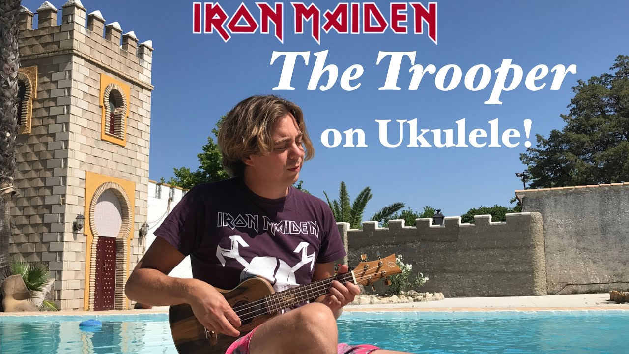 "IRON MAIDEN MAL ANDERS: THOMAS ZWIJSEN PRÄSENTIERT ""THE TROOPER"" AUF UKULELE"