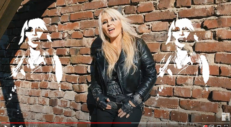 DORO -neue Single 'Brickwall' Clip