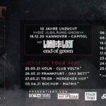 """UNZUCHT – """"Jenseits"""" Tour Verlegung"""