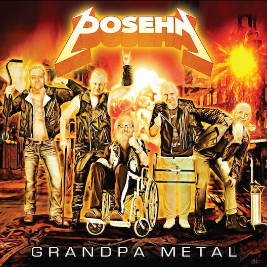 POSEHN – 'Grandpa Metal' mit ANTHRAX, SLAYER,  EXODUS, TESTAMENT, SOUNDGARDEN, SLIPKNOT u.v.m.  Musikern