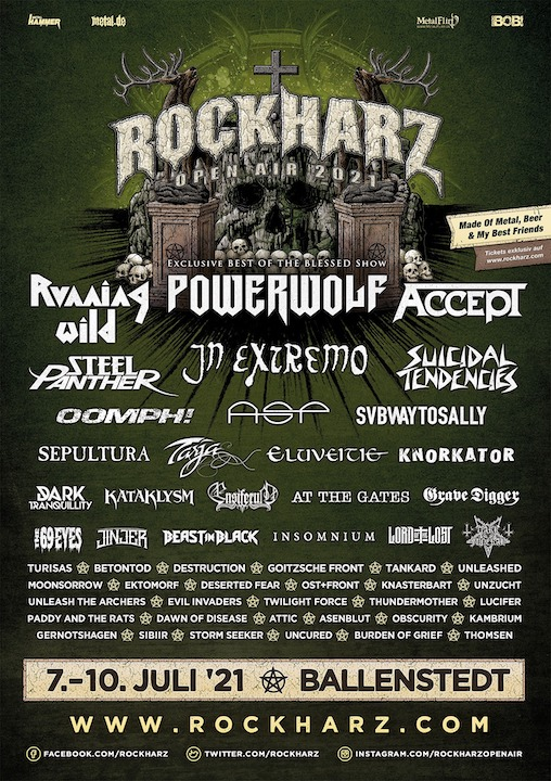 Read more about the article ROCKHARZ Festival 2021Vorverkauf startet