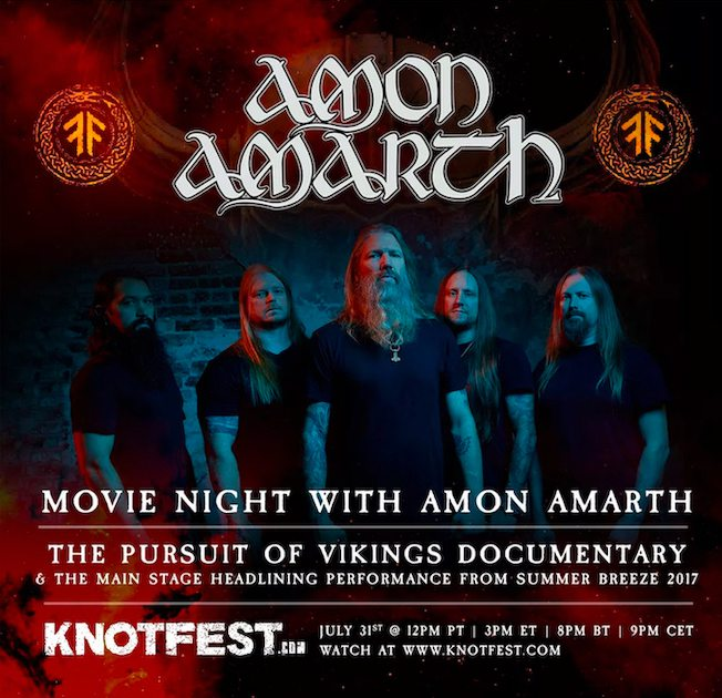 AMON AMARTH – Movie Night am 31.07.20