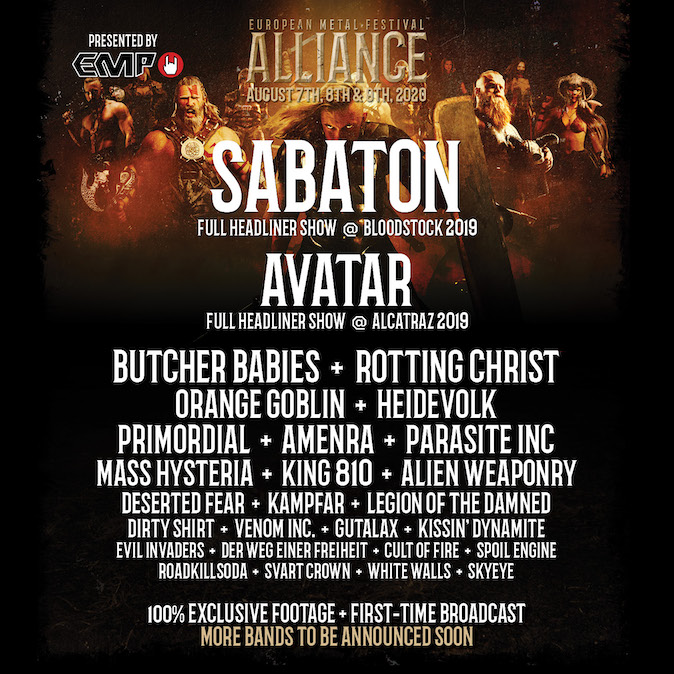 Read more about the article Update: European Metal Festival Alliance – 7. bis 9. August 2020