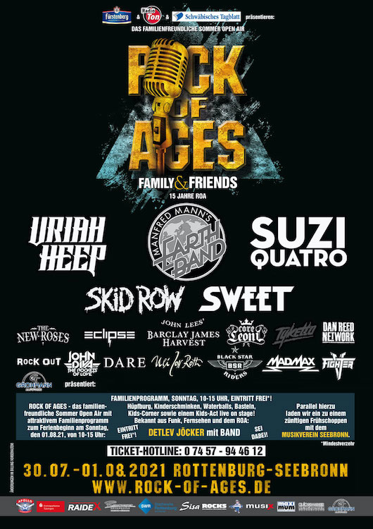 15 Jahre ROCK OF AGES Festival