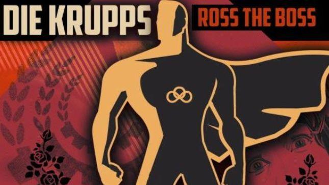 DIE KRUPPS mit Ex-MANOWAR Gitarrist ROSS THE BOSS – 'No More Heroes'