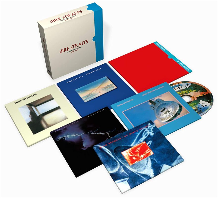 You are currently viewing BOXSET Mania: auch die DIRE STRAITS legen nach