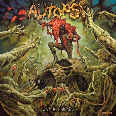 AUTOPSY – 'In The Grip Of Winter' Live In Chicago