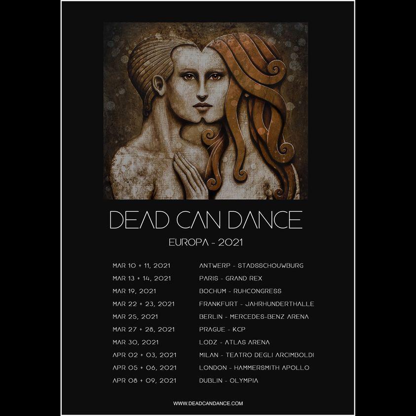 DEAD CAN DANCE kündigen Tour im Frühjahr an!