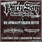 PARTY.SAN HERBSTOFFENSIVE – 2 Open Airs im Oktober