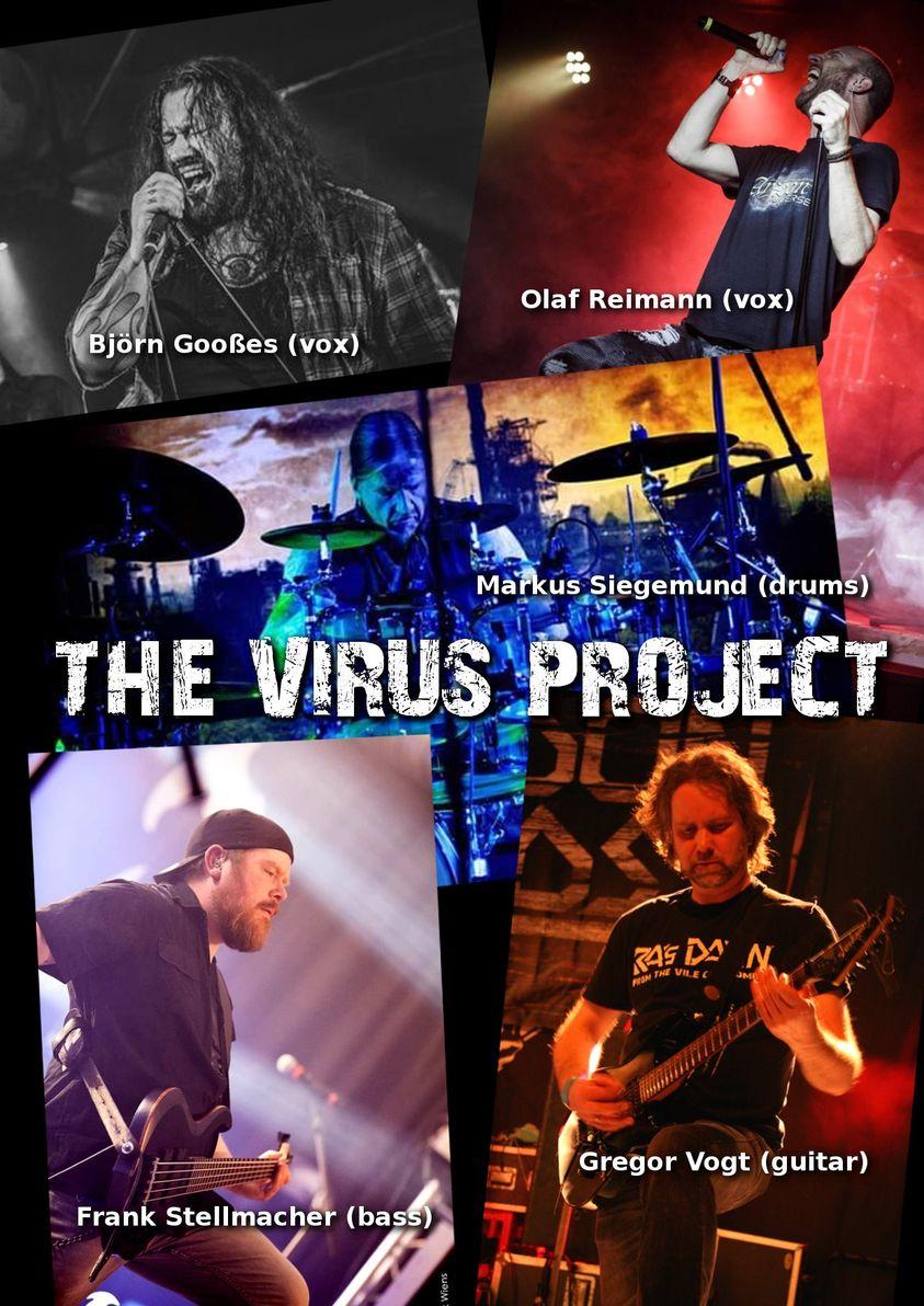 THE VIRUS PROJECT nehmen EP auf!