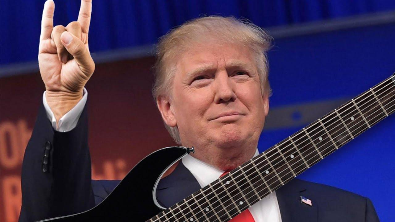 Metal waxing political: MetalTrump goes Judas Priest