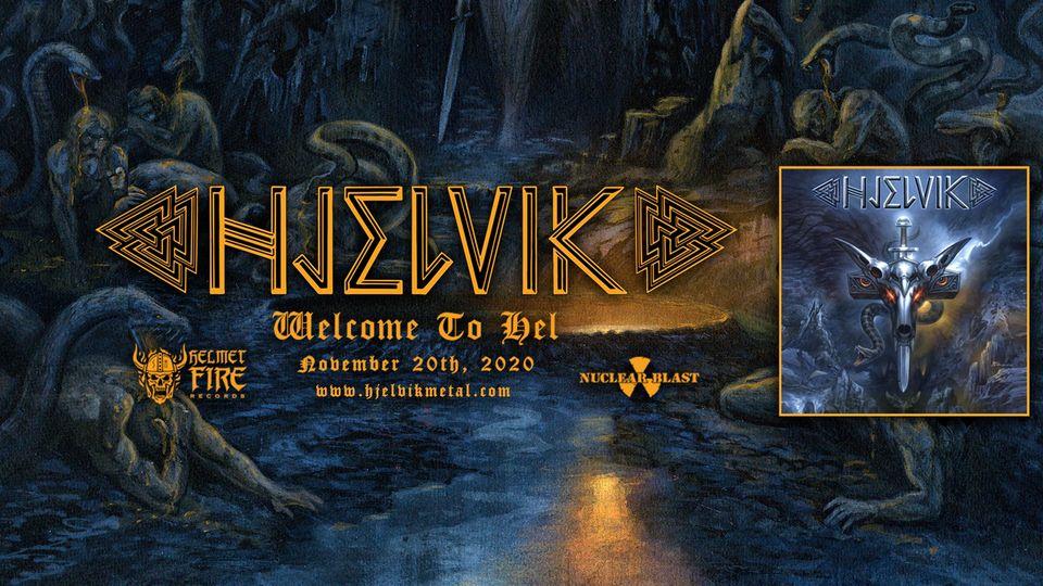 Pagan Metaller HJELVIK mit nächstem Clip