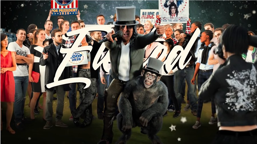 ALICE COOPER – bewirbt sich: 'I Wanna Be Elected'