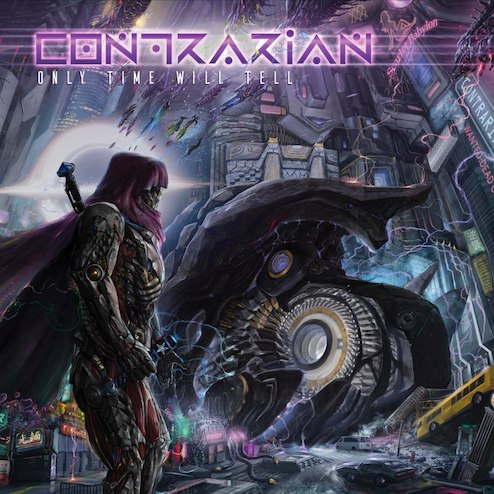 Prog-Deather CONTRARIAN –  'The Mega-Metropolis' Clip
