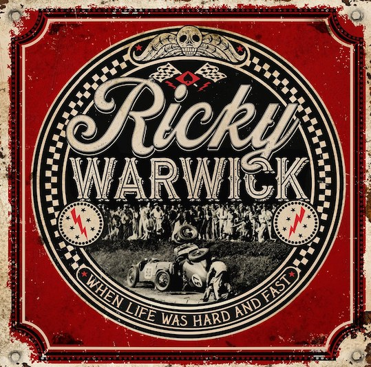 RICKY WARWICK – 'Fighting Heart' Video zum kommenden Album