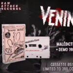 """Franko-Metaller horchen auf: VENINs """"Malédiction"""" auf Kassette"""