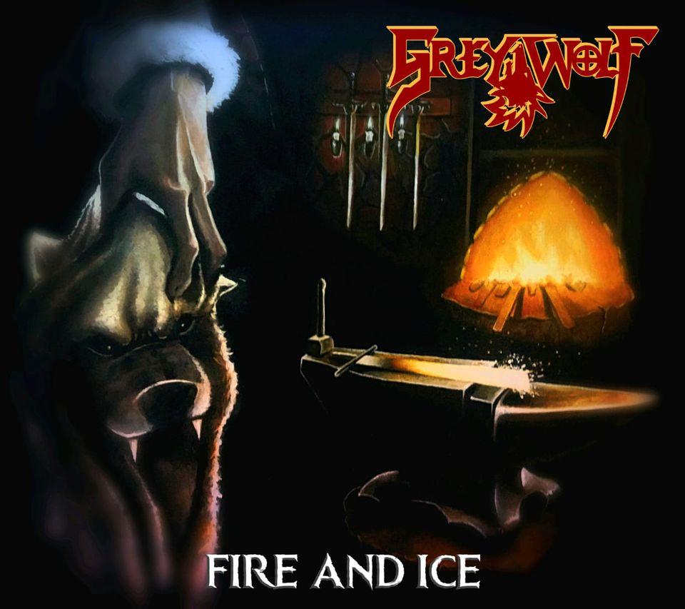"Brasilianer GREY WOLF präsentieren Single ""Fire And Ice"""