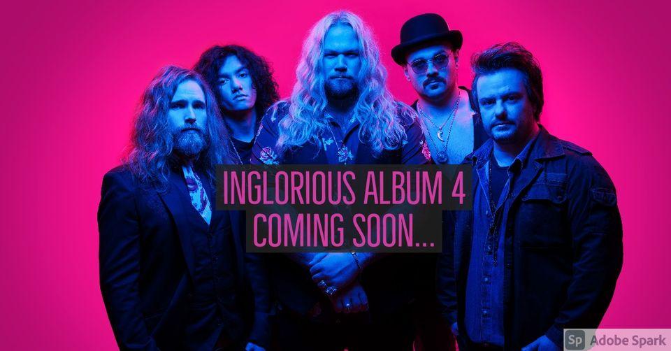 Classic Rocker INGLORIOUS: erste Single vom neuen Album