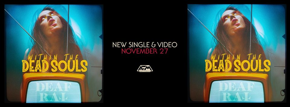 """Rocker DEAF RAT und das Video zur Single """"Within The Dead Souls"""""""