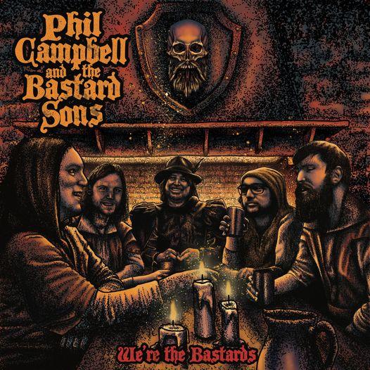 """Born To Roam"": Video zum Album von PHIL CAMPBELL AND THE BASTARD SONS"