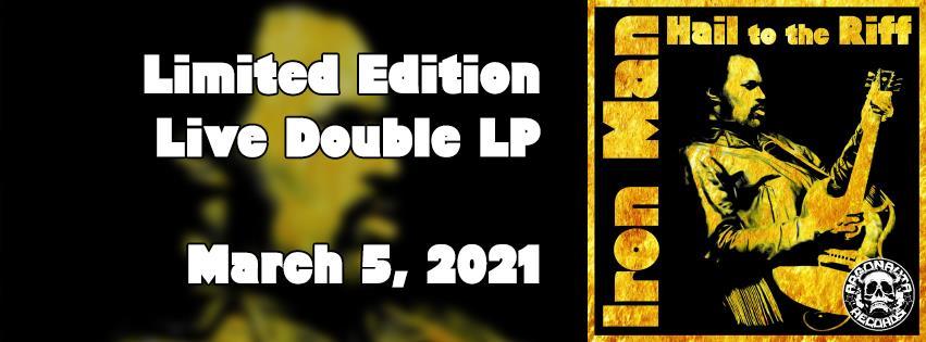 Maryland Doomster IRON MAN mit Livealbum
