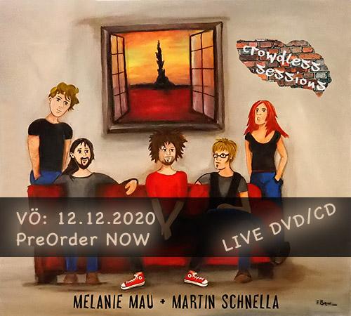 """MAU/SCHNELLA veröffentlichen """"Crowdless Sessions"""" am 12.12.20!"""