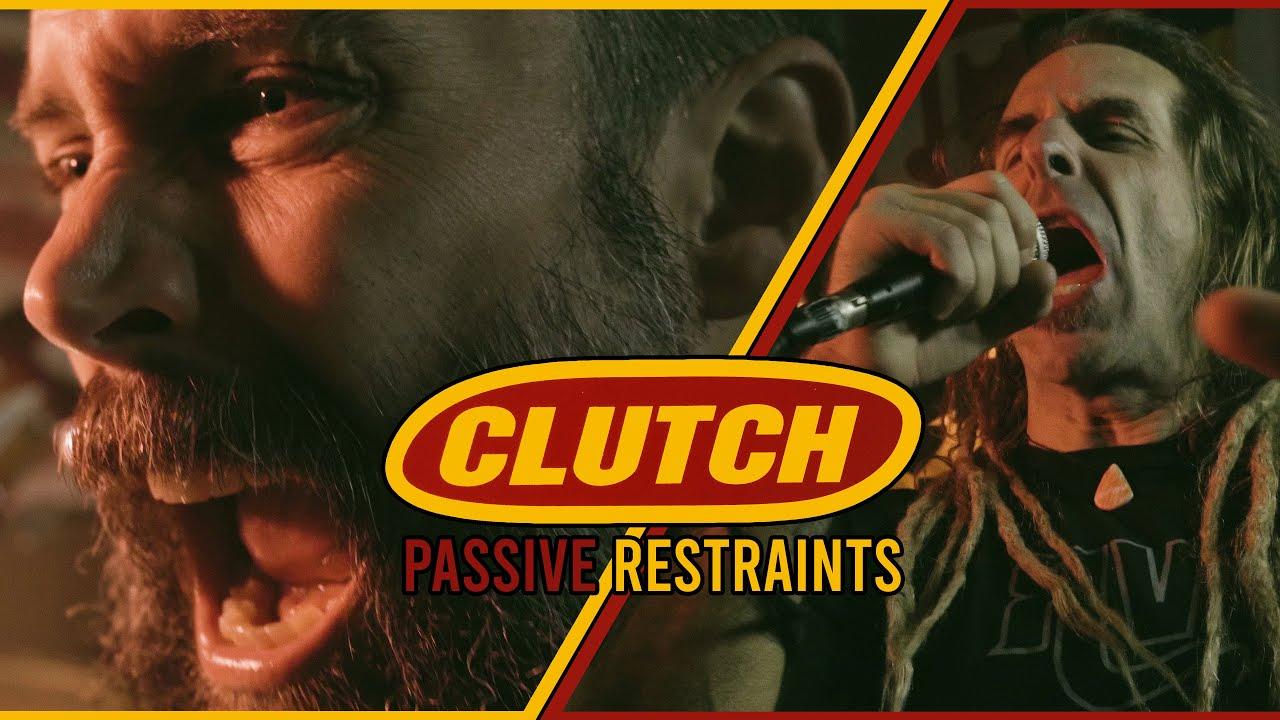 """CLUTCH meets LAMB OF GOD: Neuaufnahme von """"Passive Restraints"""""""