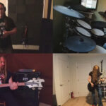 TESTAMENT, MEGADETH, CARCASS, ABSYMAL DAWN Members – ENTOMBED Cover