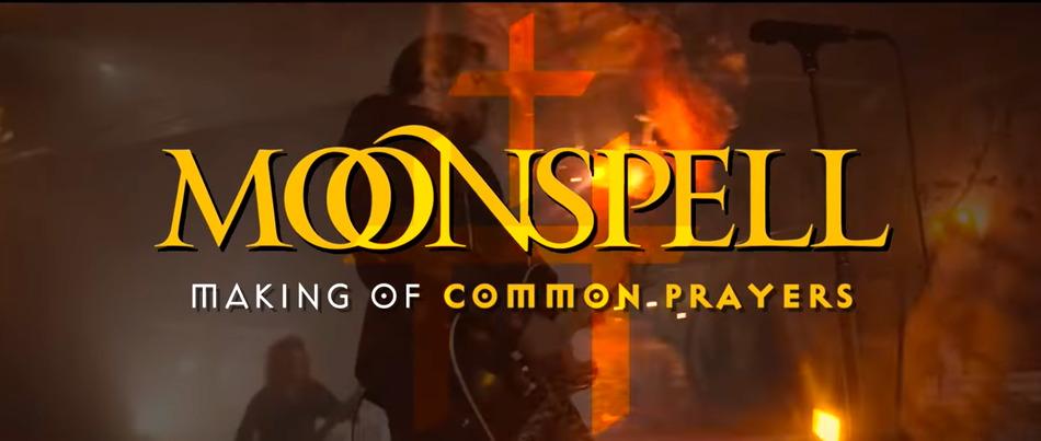 MOONSPELL – Making Of zum 'Common Prayers' Clip
