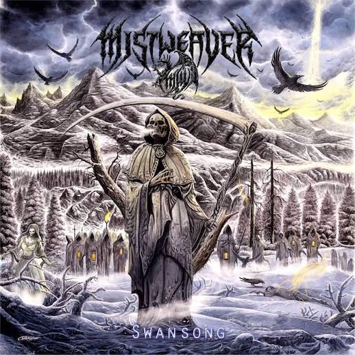MISTWEAVER – Death Metaller packen 'Swansong' aus.