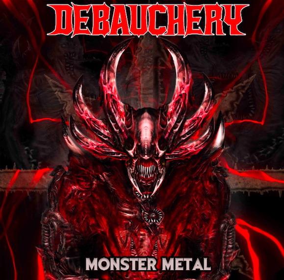 You are currently viewing DEBAUCHERY – Gehen unter die Monster im 'Skull Mountain' Video