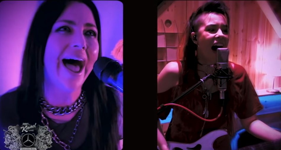 """EVANESCENCE – Neuer Track 'Wasted On You' live in """"Jimmy Kimmel Live!"""" TV Show"""