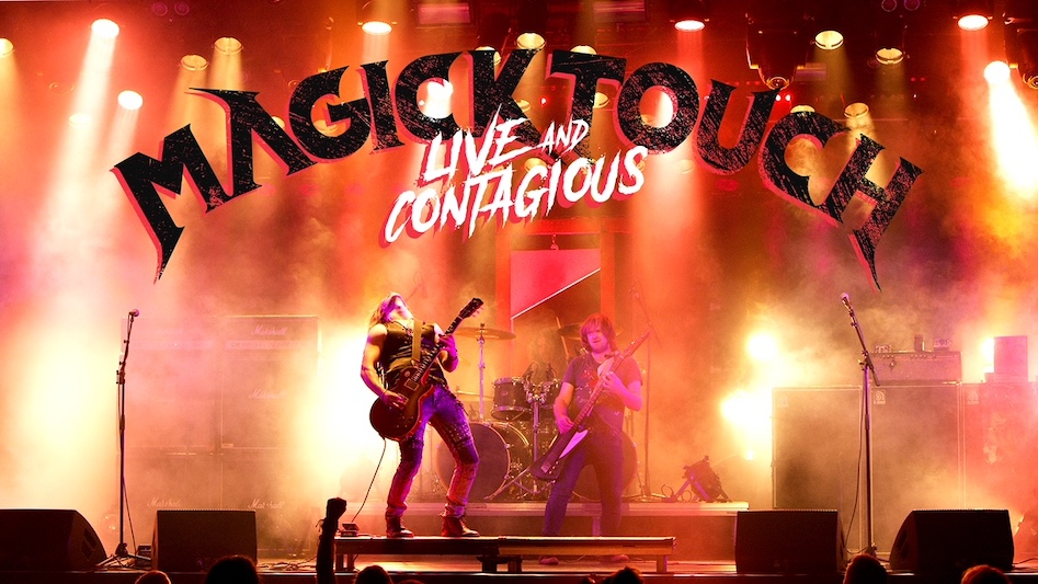 """MAGICK TOUCH – """"Live And Contagious"""""""