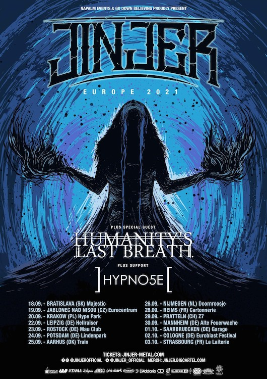 Read more about the article JINJER – Herbst-Tour hat noch Restkarten