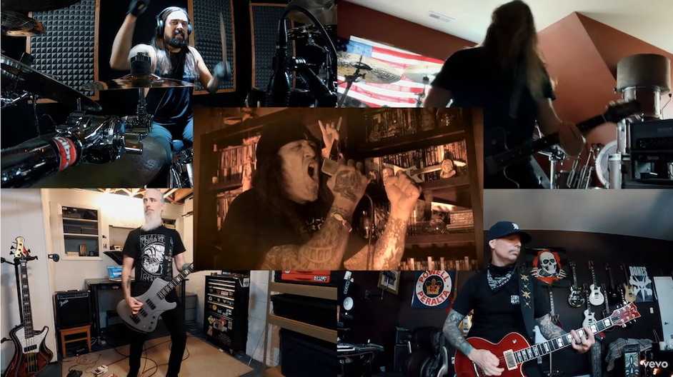 You are currently viewing LAMB OF GOD – 'Routes' mit CHUCK BILLY Quarantäne-Version