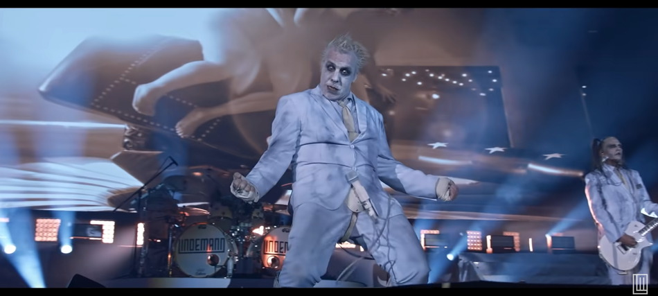 """You are currently viewing 3sat sendet """"LINDEMANN: Live in Moscow"""""""