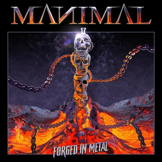 You are currently viewing MANIMAL – Schwedischer Heavy Metal im schwarzen Look: 'Forged In Metal' Video