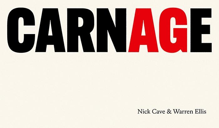 """NICK CAVE  – Vor-Veröffentlichung seines neuen Albums """"Carnage"""""""