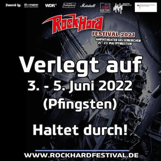 You are currently viewing ROCK HARD FESTIVAL verschoben