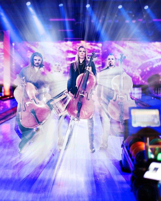 "APOCALYPTICA –  streamen brandneue ""Live At Finland's BowlCircus"" Liveshow"