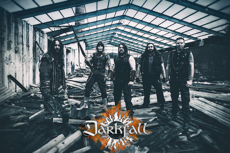 DARKFALL – Thrashing Death mit 'Tides Of War'