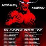 """EKTOMORF – """"The European Reborn"""" Tour 2021"""