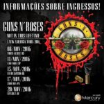 GUNS N' ROSES  – Posten 'Not In This Lifetime' Livevideo aus Brasilien