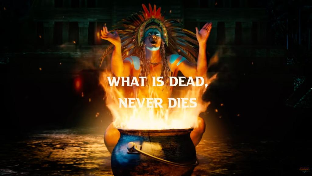 Hard Rock von TEMPLE BALLS – 'What Is Dead Never Dies' Auskopplung