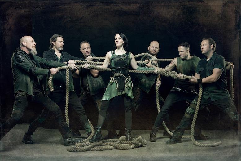 Acapella Metal von VAN CANTO – 'Falling Down' Video