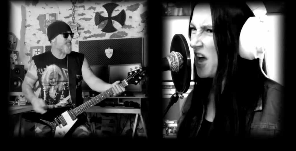 NERVOSAs Diva Satanica & Jeff Mantas – 'Countess Bathory' (Venom)